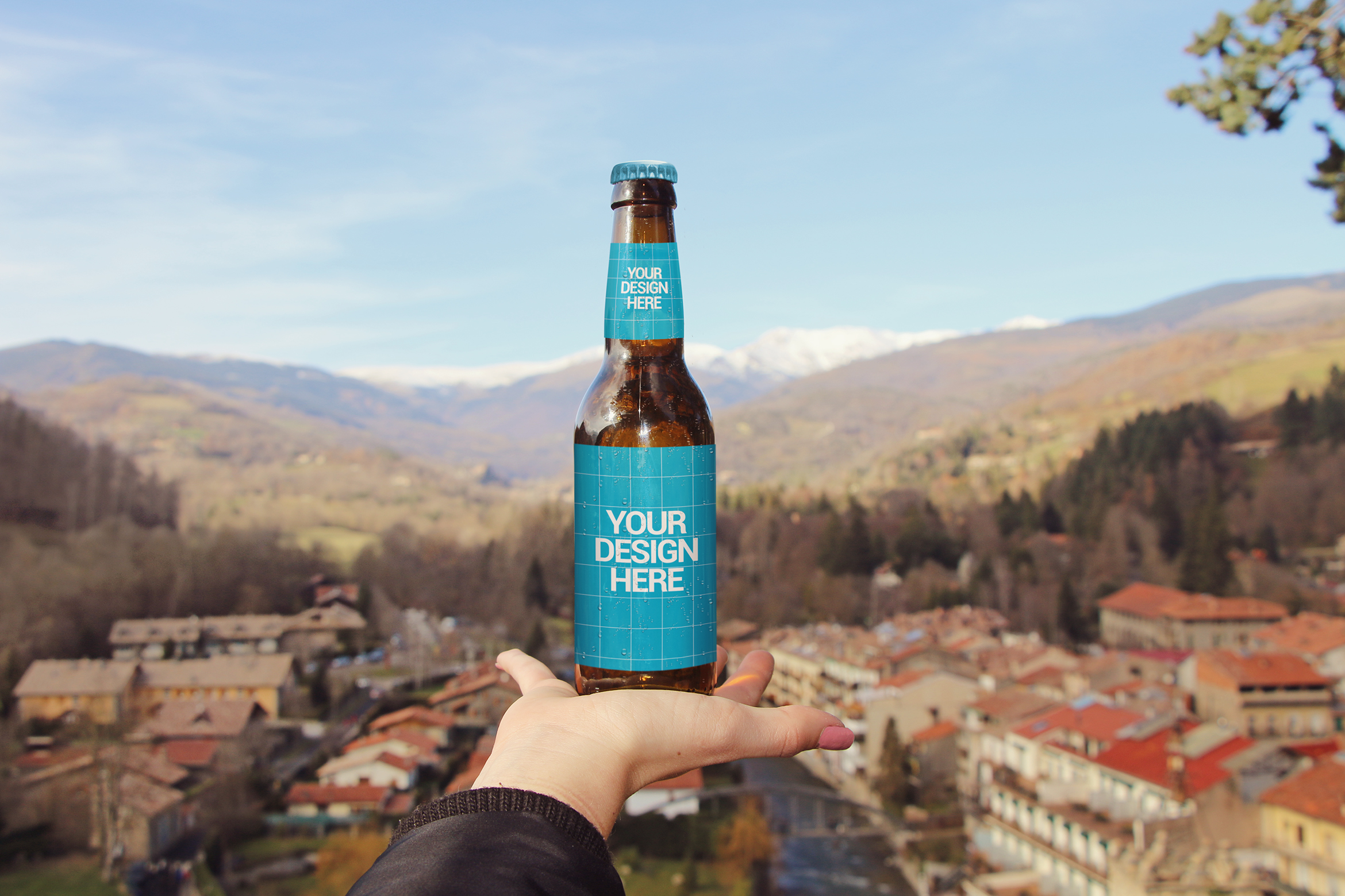 Beer in the Pyrenees