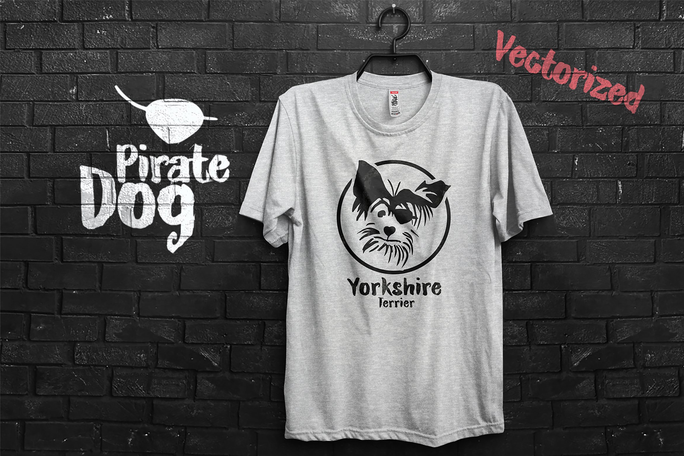 Pirate Yorkshire Terrier