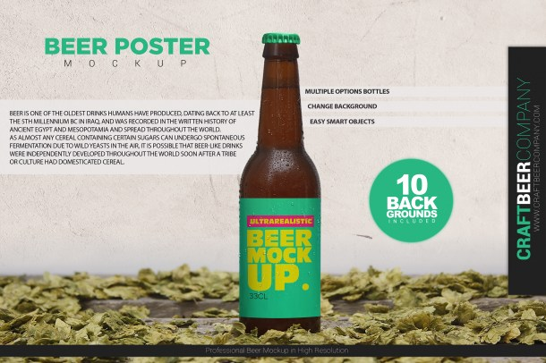 1 Beer Poster Template (2340)