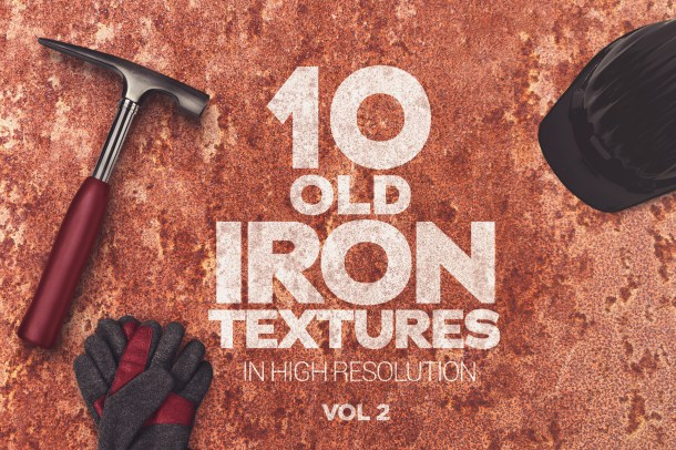1 Old Iron Textures Vol 2 x10 (2340)