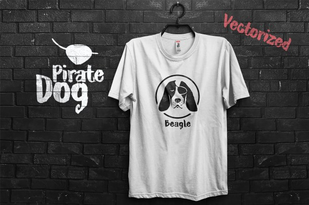1 Pirate Beagle