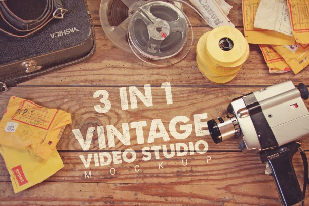 1 Vintage Video Studio Mockup 3 in 1 (2340x1560)