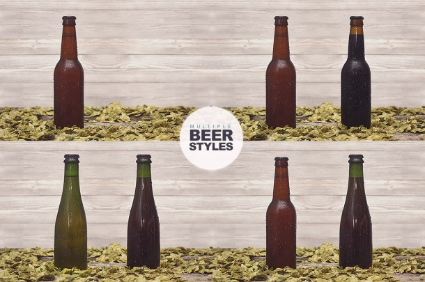 5 Essential Beer Mockups (2340x1450)